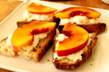 How To Make Peach Brulee Burrata Bruschetta