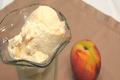 Lynn's Fresh Peach Ice Cream - July 4th