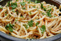 How To Make Peanut Noodles With Red Bell Pepper And Shredded Chicken