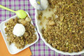How To Make Thanksgiving Dessert Pear Pistachio Crisp