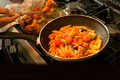 How To Make Colorful Penne Pasta With Roasted Veggies