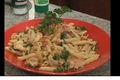 How To Make Penne With Shrimp And Vegetables In Gorgonzola Cream Sauce