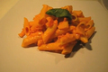 Penne With Tomato Basil And Smoked Salmon