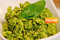 How To Make Low Fat Raw Vegan Pesto