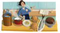 Julia Child's Google Doodle On Her 100th Birthday