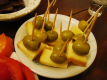 Cheese Stoppers With Olives Aka Koreczki