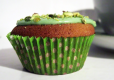 Matcha Tea Cupcake With Pistachio