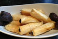 Date and Walnut Stuffed Phyllo Rolls