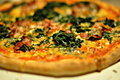 Organic Gluten-Free Vegetarian Pizza