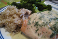 How To Make Poached Salmon With Mousseline Sauce