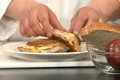 How To Make Apple Pork Panini Sandwich