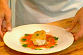How To Make Potato Encrusted Sea Scallops With Bloody Mary Sauce