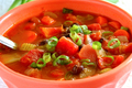 Hearty Pumpkin and Black Bean Soup