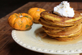 How To Make Thanksgiving Pumpkin Pie Pancakes Recipe Video