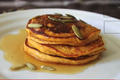 How To Make Holiday Pumpkin Pancakes