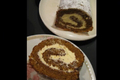 Pumpkin Roll Cake with Buttercream Frosting