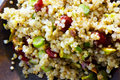 Dried Cherries and Pistachio Quinoa
