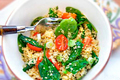 How To Make Quinoa And Vegetable Salad