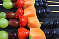 How To Make Rainbow Fruit Skewers Video