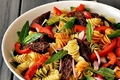 How To Make Rainbow Pepper Pasta Salad