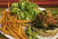 How To Make Raw Vegan Burger With French Fries