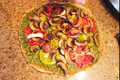 Raw Vegan Diet Pesto Pizza