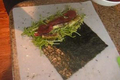 Raw Vegetable Nori Rolls