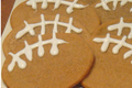 Ray Finkle Football Cookies