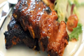 BBQ Ribs on Charcoal Grill - Quick & Easy