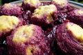 How To Make Ricotta Cheesecake And Ricotta Dumplings In Plum Blueberry Sauce