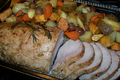 How To Make Roast Pork With Harvest Vegetables