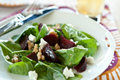 How To Make Roasted Beets With Feta Cheese Over Baby Arugula
