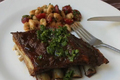 Roasted Breast Of Lamb With Honey Parsley Vinegar