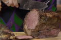 Roasted Prime Rib With Garlic And Thyme Seasoning