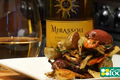 Mirassou Chardonnay with Roasted Cold Vegetable Salad