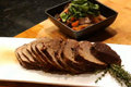 How To Make Roasted Top Sirloin With Caramelized Vegetables And Portabella Mushrooms