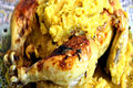 How To Make Moroccan Roasted Chicken M'kalli And M'hammer