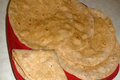 Roti or Chapati or Aka or Pulka Fulka (Indian Soft Bread)