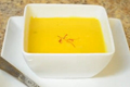 Saffron Flavored Pumpkin Soup