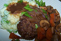 How To Make Healthier Salisbury Steak