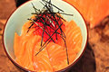 How To Make Salmon And Roe Sushi Bowl - Umi No Oyakodon