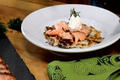 Burren Smokehouse Irish Salmon Boxty Pancakes