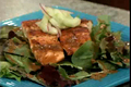 How To Make Seared Salmon On Cucumber Salad