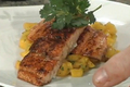 How To Make Salmon With Wine Sauce And Mango Salsa