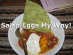 Eggs Poached In Salsa