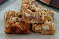 Salted Caramel Apple Bars 