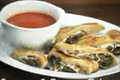 Italian Style Sausage and Pepper Calzone