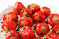 How To Make Sausage Stuffed Cherry Pepper Poppers
