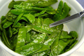 Snow Peas with Garlic and Ginger
