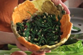 How To Make Sauted Spinach With Cranberries And Pinenuts
